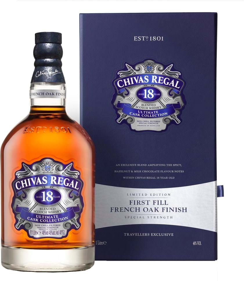 Chivas 18YO Ultimate Cask Collection First Fill French Oak finish
