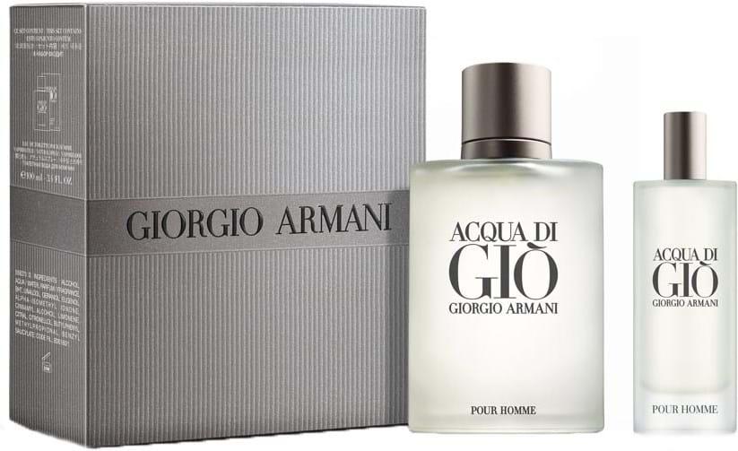 Giorgio Armani Acqua Di Giò pour Homme-sæt