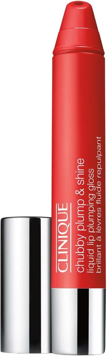 Clinique Chubby Plump & Shine lipgloss N° 02 Super Scarlet