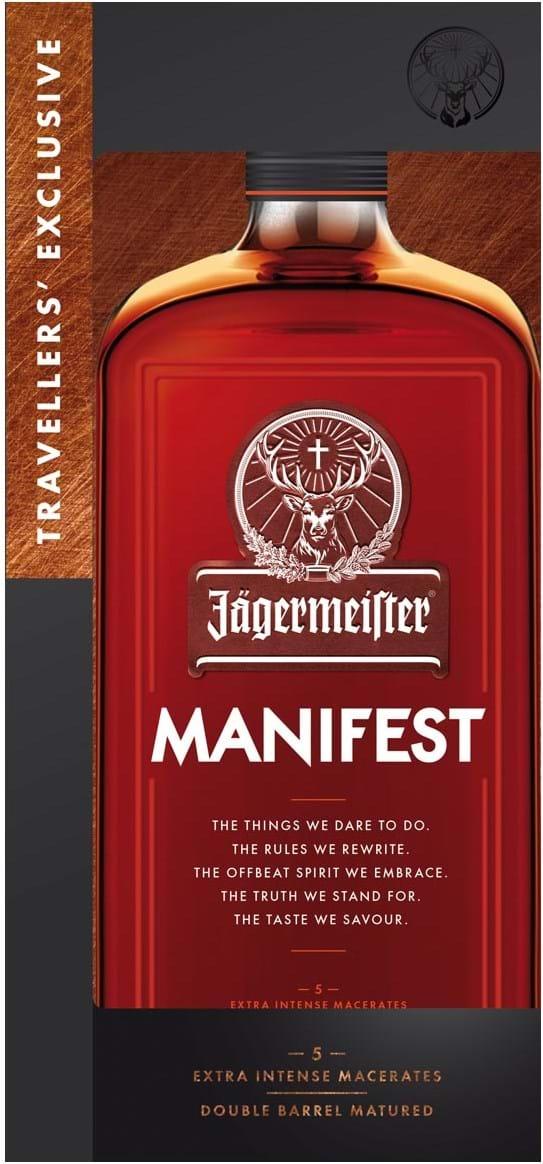 Jägermeister Manifest 38% 1L, gaveæske