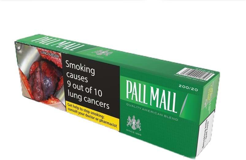 Pall Mall Green BC 200 stk