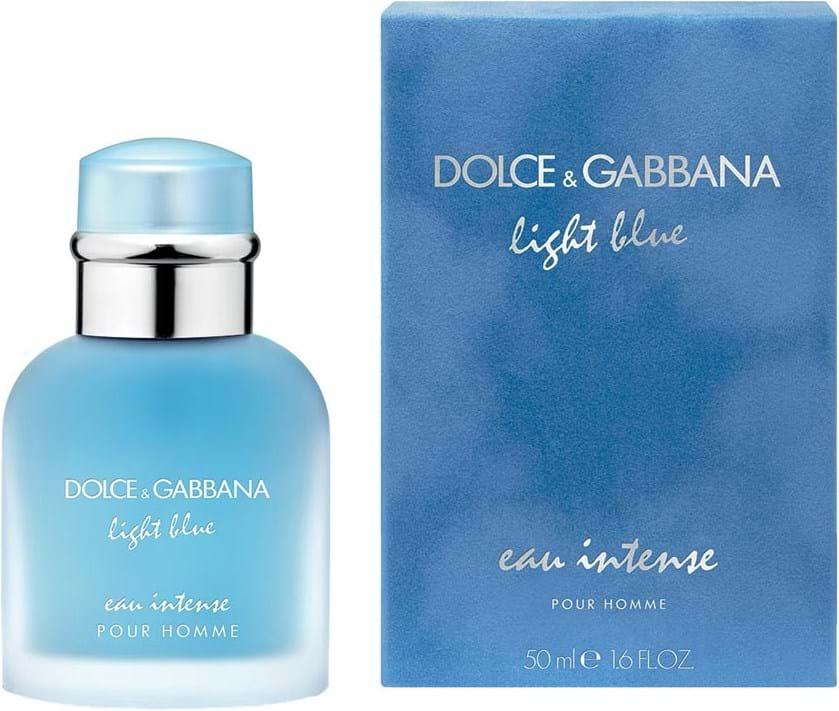 Dolce & Gabbana Light Blue Eau Intense Pour Homme Eau de Parfum 50ml