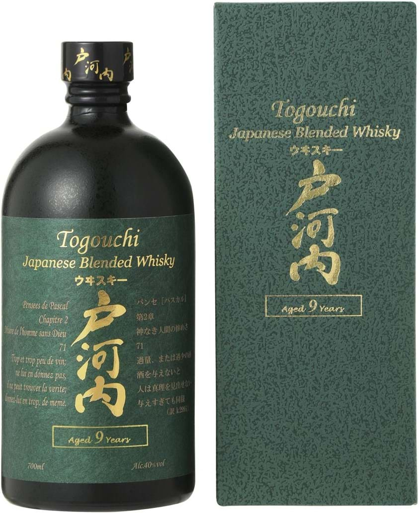 Togouchi 9y 40% 0.7L giftpack