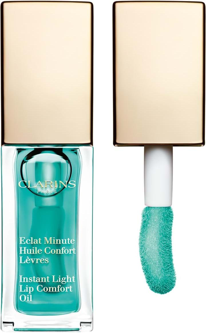 Clarins Instant Light Beauty Perfector læbeolie N°6 Mint
