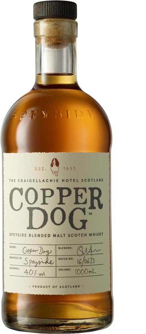Copper Dog, Speyside, Blended Malt Scotch Whisky 40% 1L