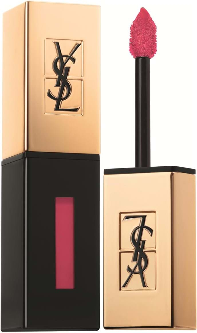 Yves Saint Laurent Rouge pur Couture Vernis à Lèvre‑læbestift N° 47 Carmin Tag