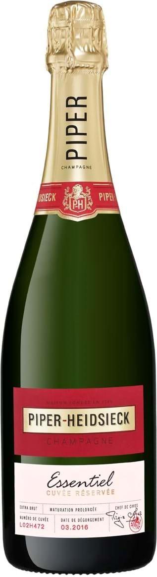 Piper-Heidsieck, Essentiel, Champagne, AOC, brut, white (gift box) 0.75L