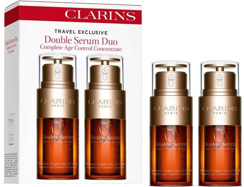 Clarins Essential Care Double Serum Set