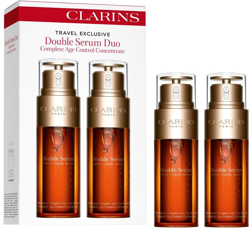 Clarins-hudplejesæt, rejsesæt