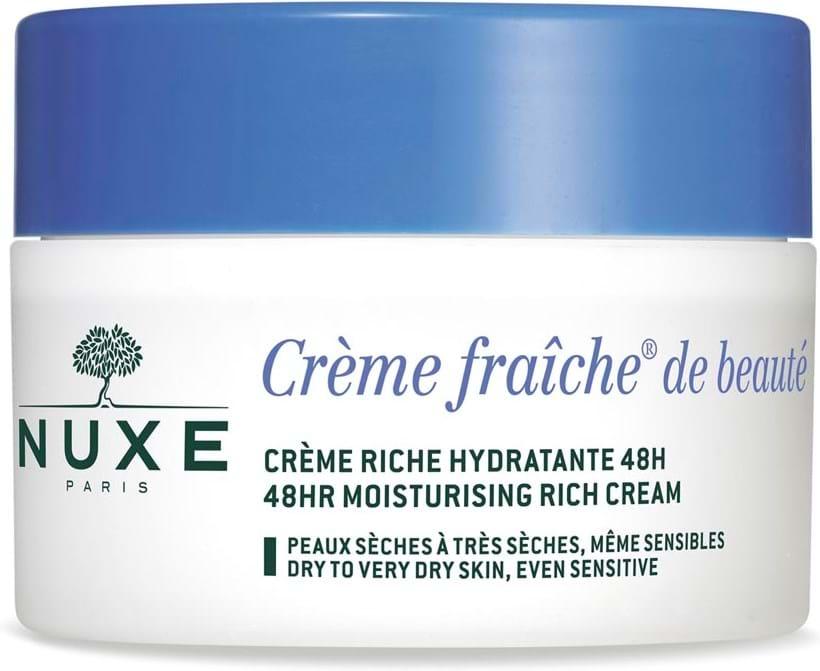 Nuxe Crème Fraiche de Beauté, 48 timers fed fugtighedscreme, 50ml
