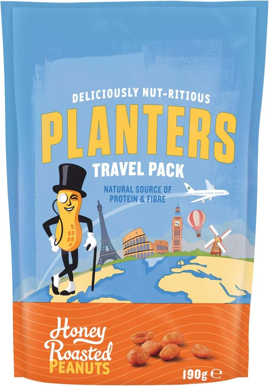 Planters honey roasted peanuts 190g