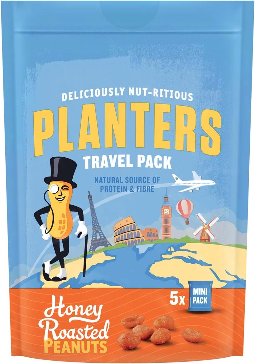 Planters honey roasted peanuts 300g
