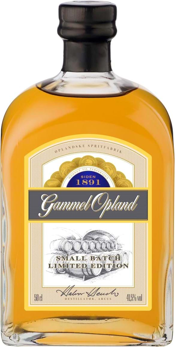 Gammel Opland Small Batch 41,5% 50cl