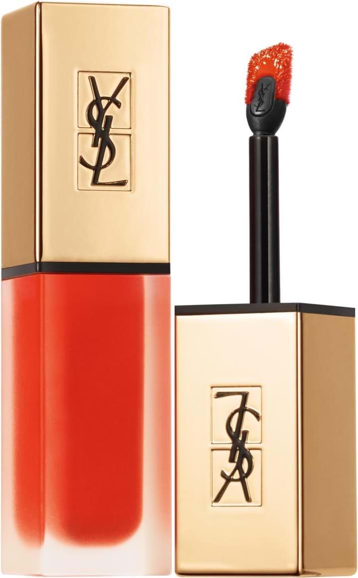Yves Saint Laurent Rouge Pur Couture-læbestift med applikator N°2 Blood Orange Pact