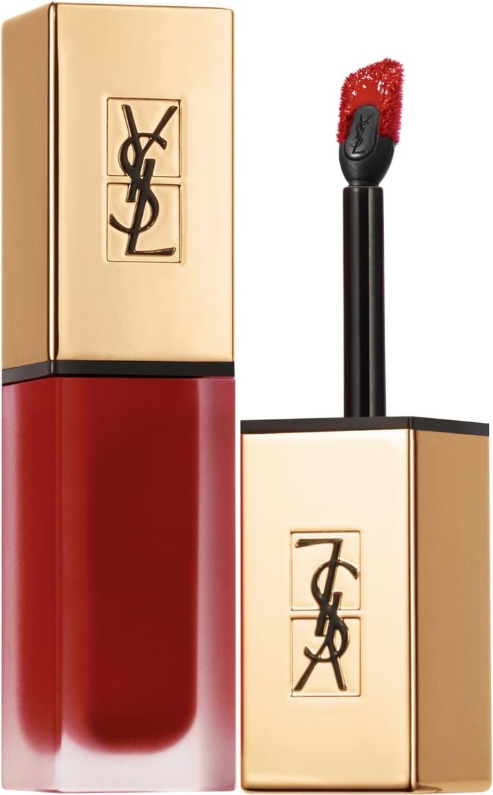 Yves Saint Laurent Rouge Pur Couture Lipstick with applicator N° 8 Black Red Code