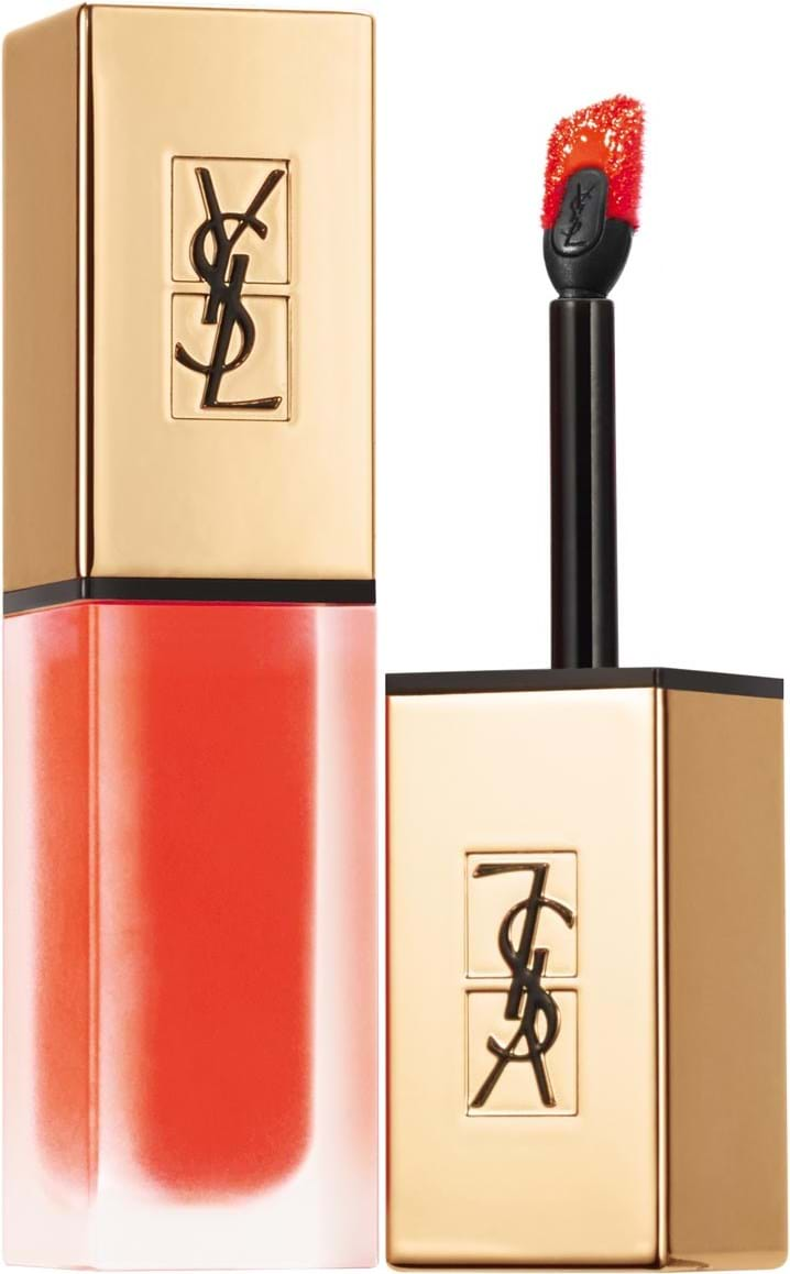Yves Saint Laurent Rouge Pur Couture Lipstick with applicator N° 17 Unconventional Coral