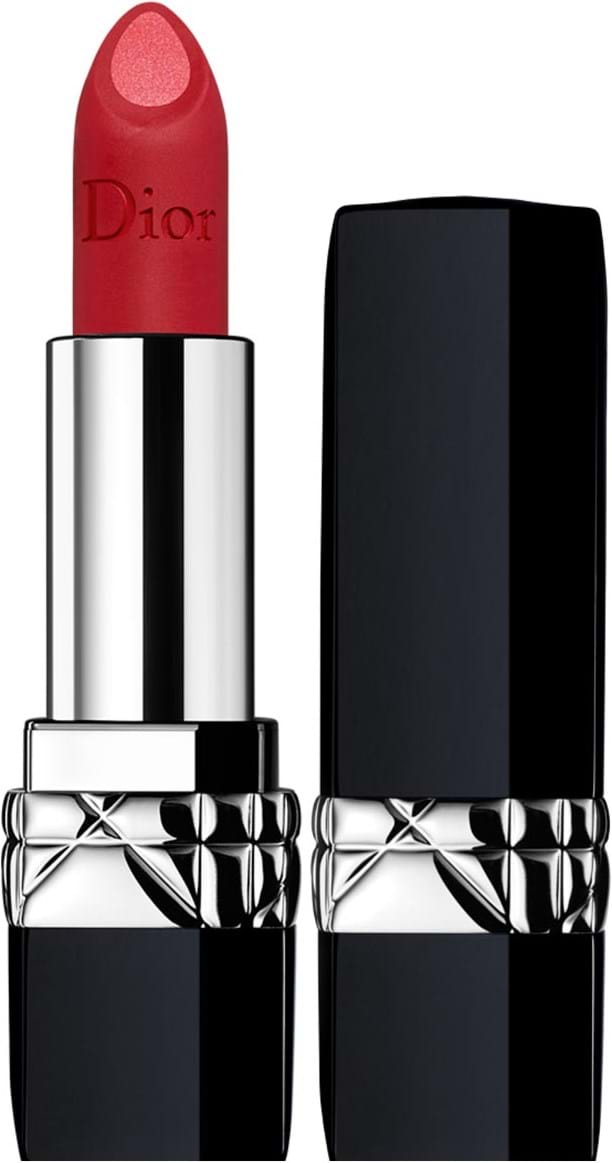 Dior Rouge Dior Double Rouge‑læbestift N° 750 Rock'N'Red