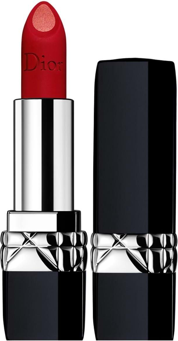 Dior Rouge Dior Double Rouge‑læbestift N°999 Matte Metal