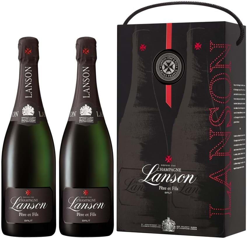 Lanson, Père & Fils, Champagne, AOC, brut, hvid 2x0,75L
