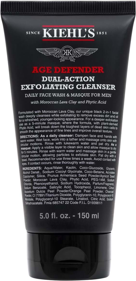 Kiehl's Age Defender Exfoliating Face Cleaning 150 ml