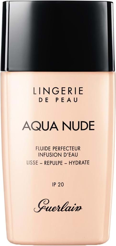 Guerlain Lingerie de Peau Aqua Nude-foundation N° 03W Natural Warm 30 ml