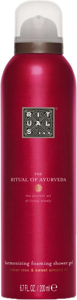 Rituals Ayurveda Foaming Shower Gel 200 ml