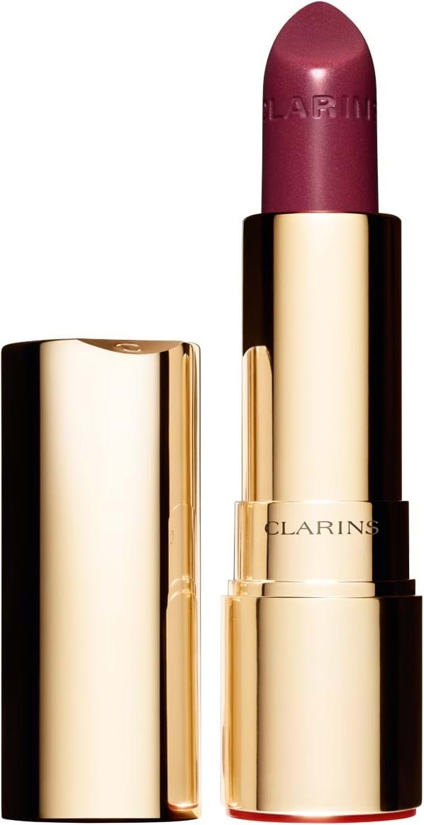Clarins Joli Rouge Brillant‑læbestift N° 33 Soft Plum