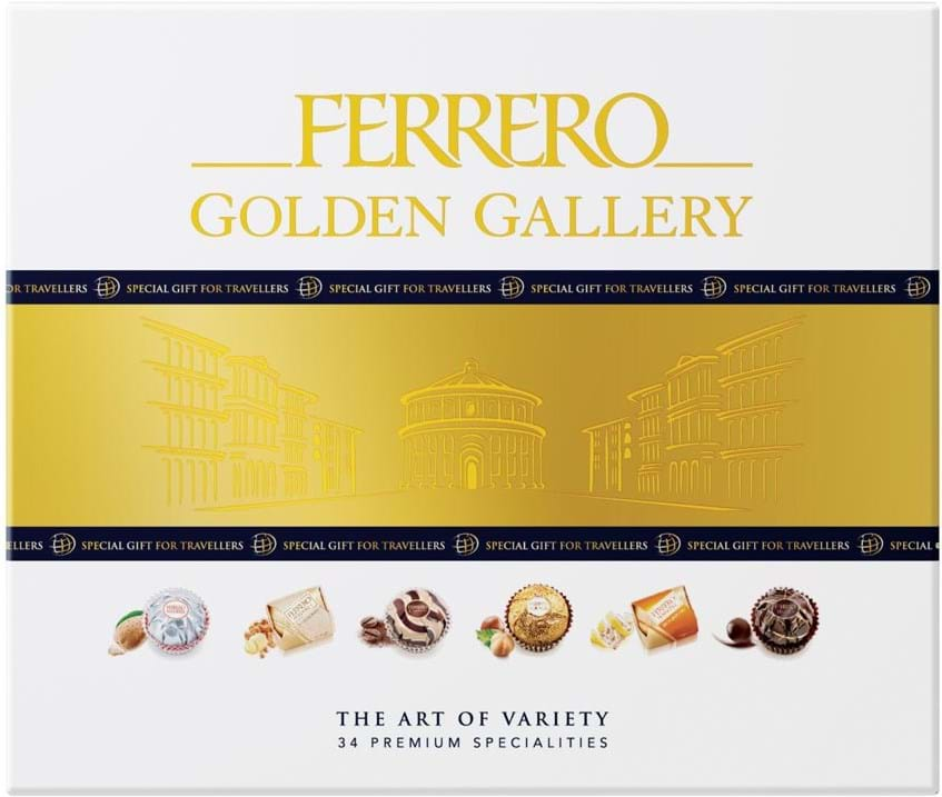Ferrero Golden Gallery The Art of Variety - 34 Premium Specialities 315g