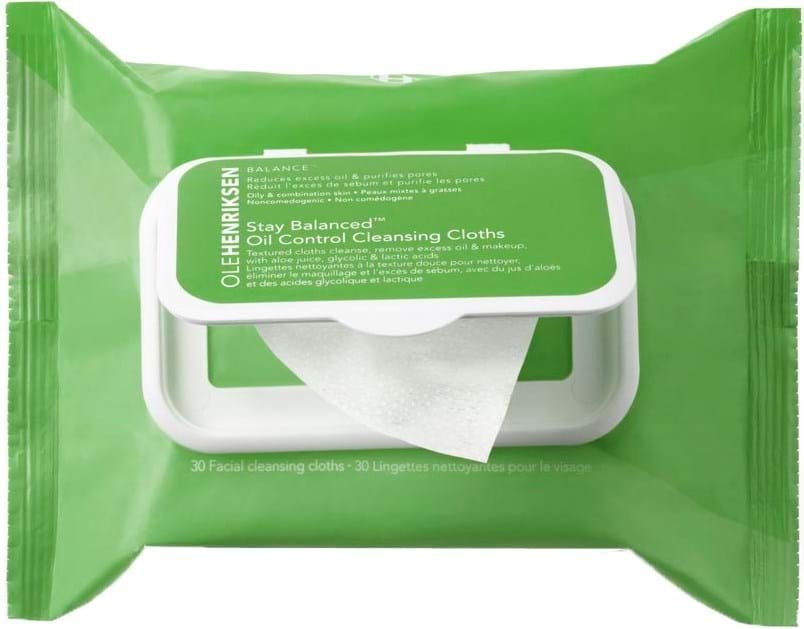 Ole Henriksen Balance Grease Relief Cleansing Cloths 30 ml