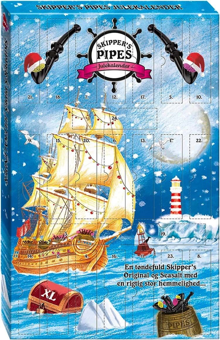 Skippers Piber – adventskalender 435g