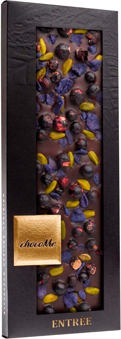 ChocoMe-chokoladebar med pistacienødder 110g