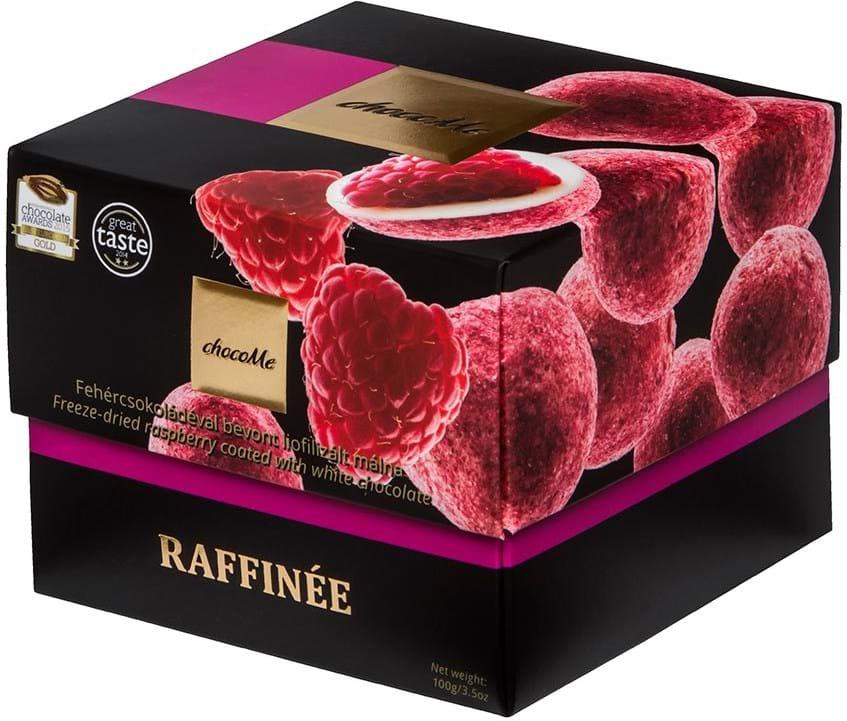 ChocoMe – mælkechokolade med hindbær 120g