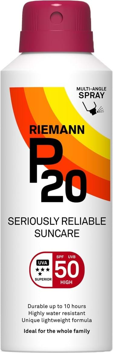P20 SPF50 Continous Spray 10 Hours Sun protection, very water resistant 150 ml