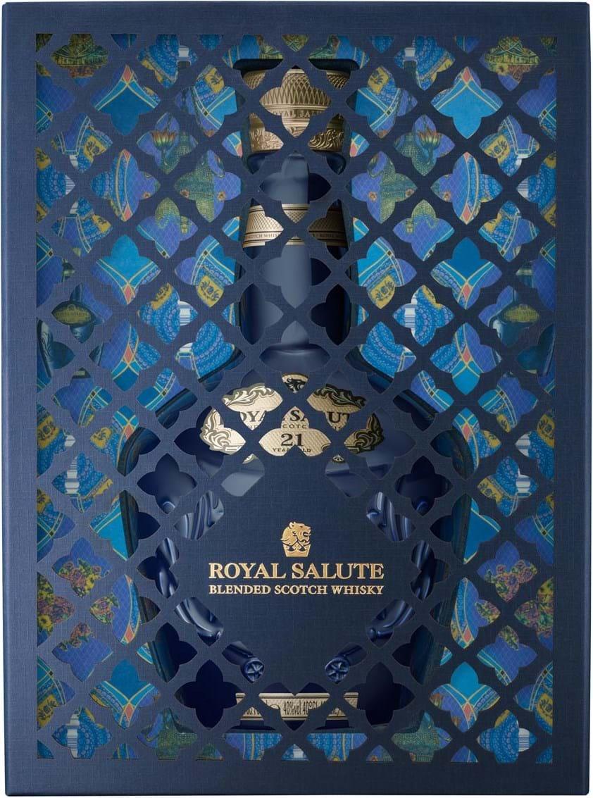 Royal Salute 21y Festive-pakke 40% 0,7L