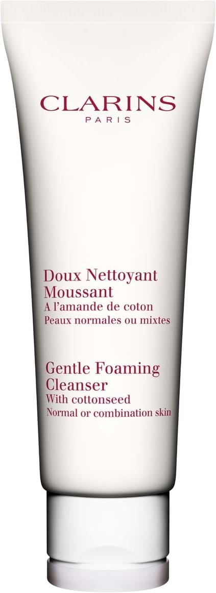 Clarins Cleansing Gentle foaming cleanser combination skin 125 ml