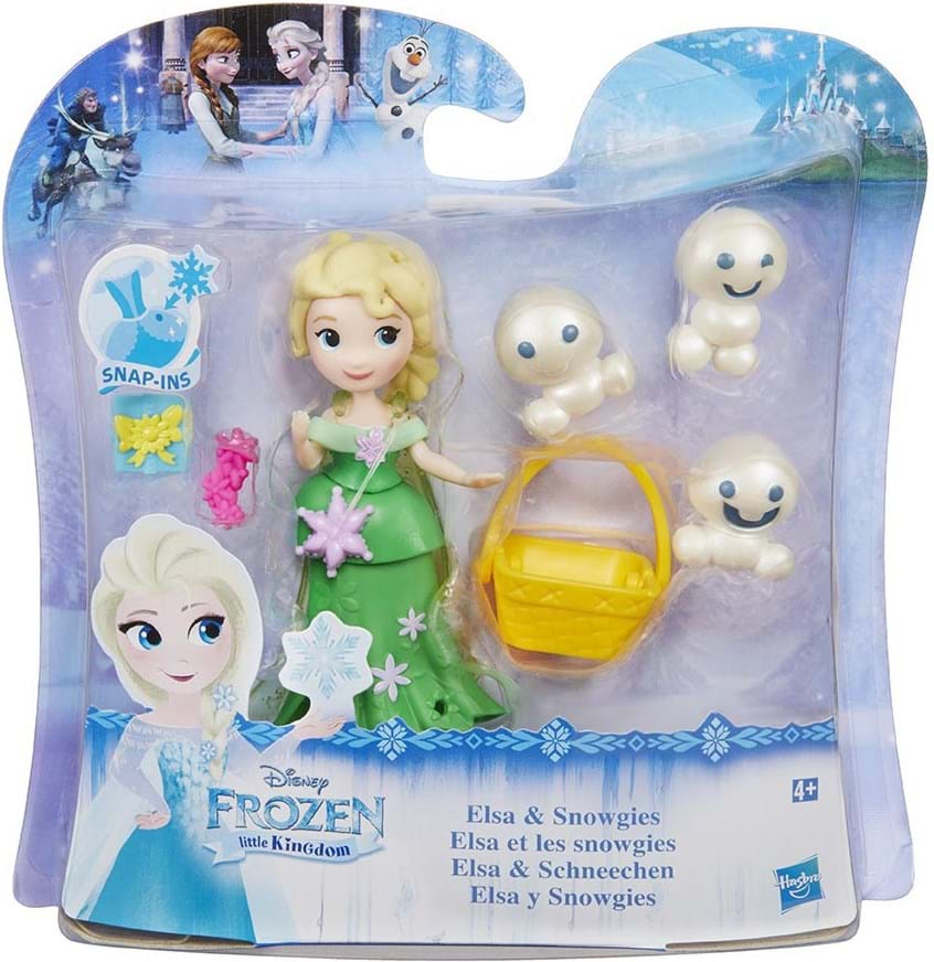 Disney Eiskönigin, frz small doll & friends ast