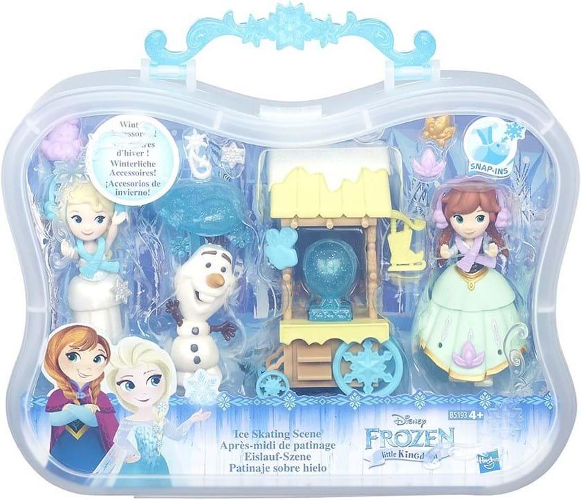 Disney Eiskönigin, frz small doll story pack ast