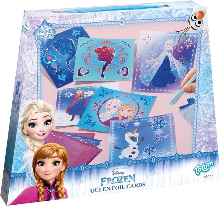Frozen, frozen scratch art cards