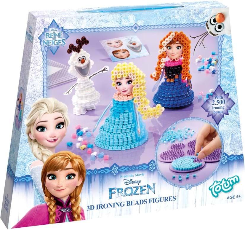Frozen, disney frozen 3d ironing beads figures