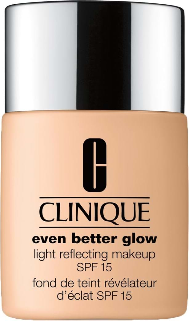 Clinique Even Better Glow-foundation N° WM118 Amber 30 ml