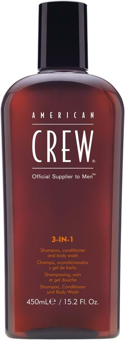 American Crew Hair&BodyCare Classic 3-i-1 (shampoo, conditioner og kropssæbe) 450 ml