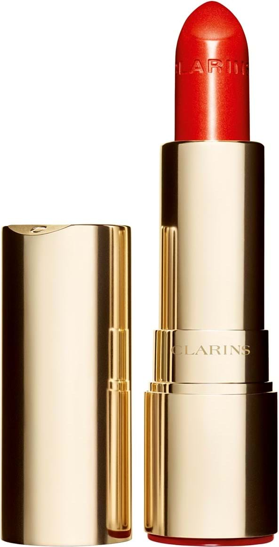 Clarins joli rouge brillant‑læbestift N°761 orange pop