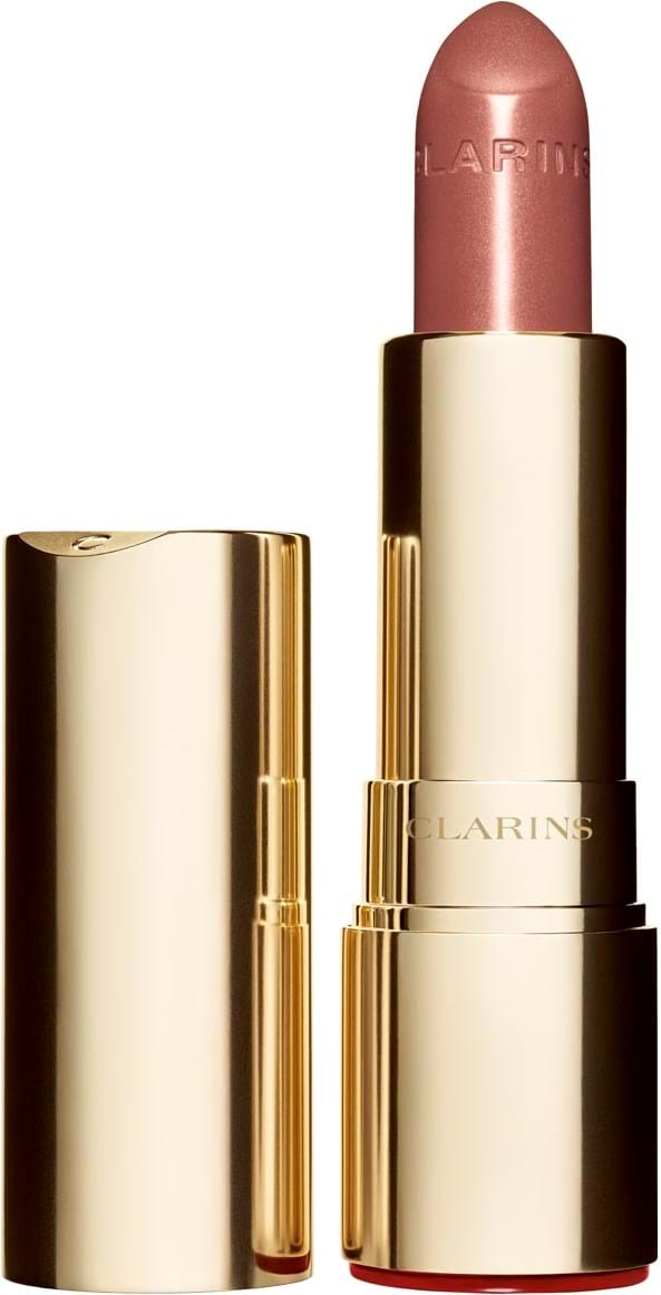 Clarins joli rouge brillant‑læbestift N°758 intense nude