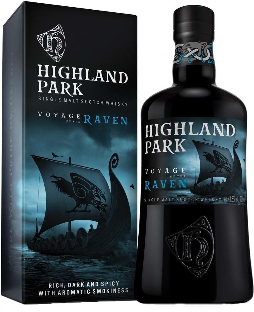 Highland Park Voyage of the Raven 41.3% 0.7L, Giftpack
