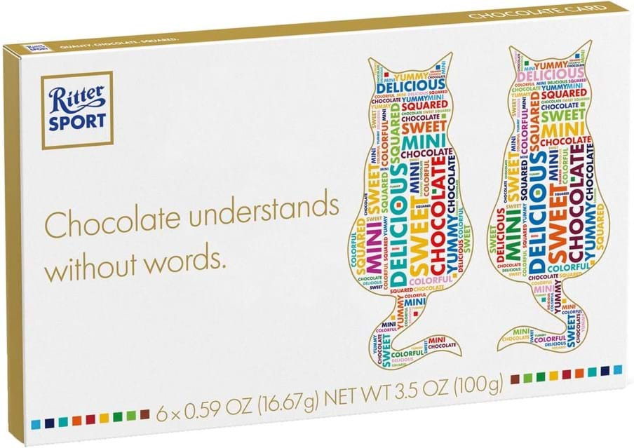 Ritter Sport Chocolate Card 100g