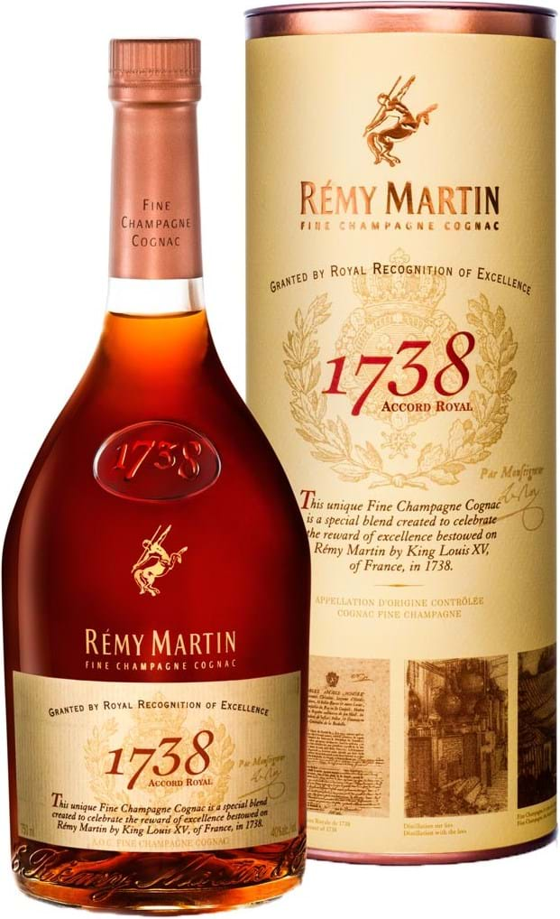 Remy Martin 1738 Accord Royal 40 % 1L Gaveæske