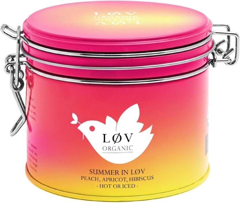 Løv Organic – blanding med hibiscus og frugt, smag af havefrugter og vandmelon 100g