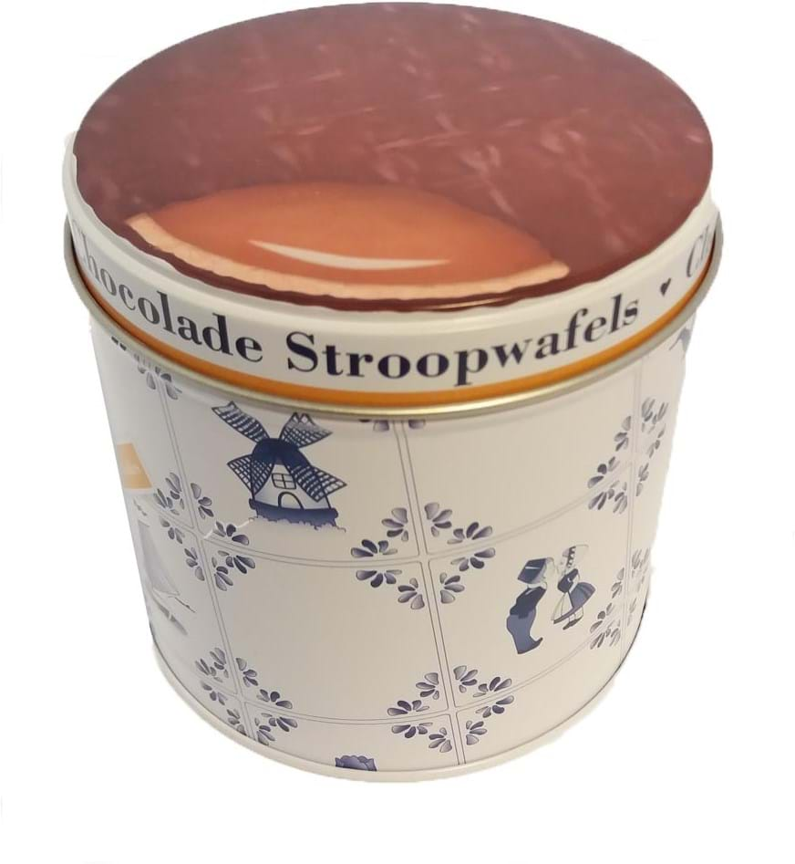 Stroopwafel & Co Choco Stroopwafels dåse 270g