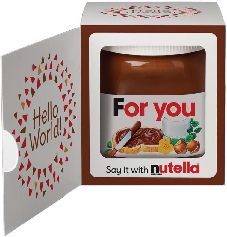Nutella-hasselnøddesmør med kakao 350g