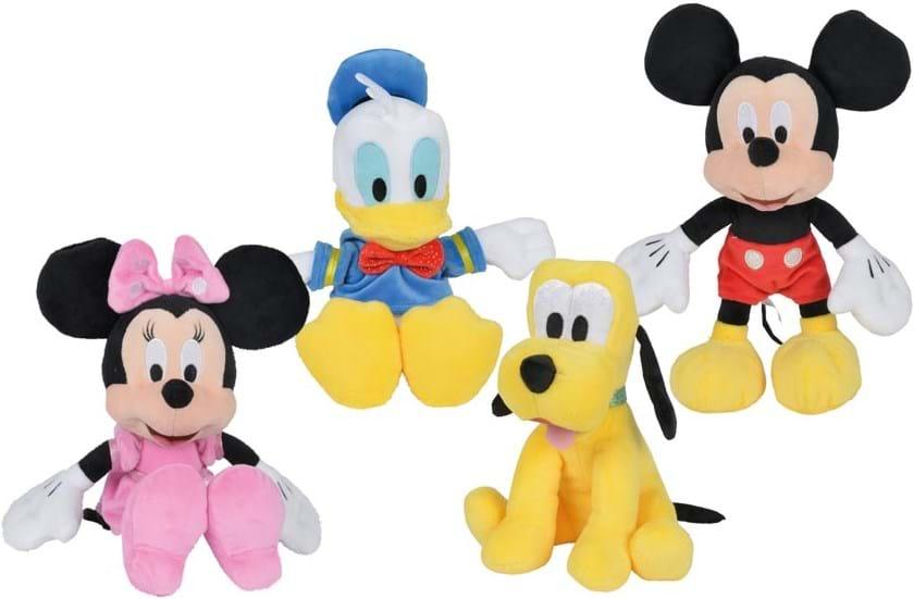 Simba Toys, Disney Mmch, assortment 2x mickey, 2x minnie, 1x donald, 1x pluto